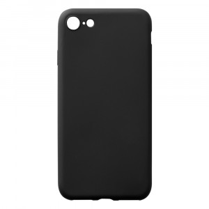 Silikoncase - Apple iPhone 7 - Schwarz