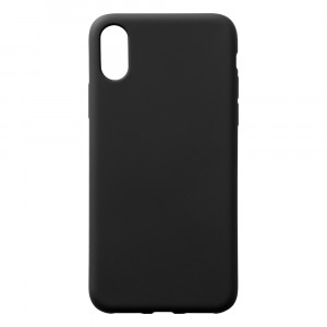 Silikoncase - Apple iPhone XS - Schwarz