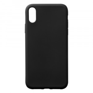 Silikoncase - Apple iPhone XR - Schwarz